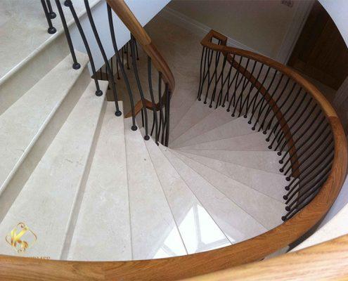 merdiven mermeri pendik Bej Mermeri