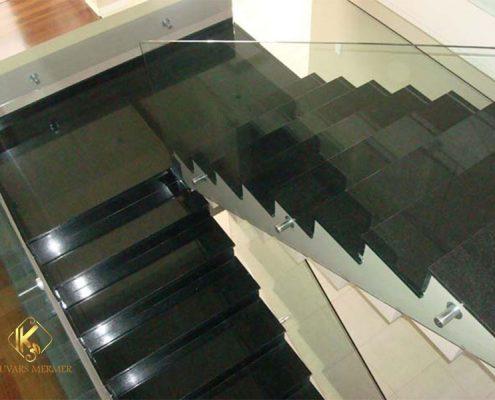 siyah granit basamak pendik
