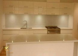 Beyaz çimstone Mutfak Tezgahı sarıyer