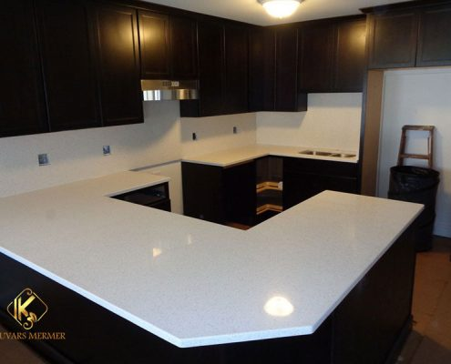 Beyaz-Çimstone-Mutfak-Tezgahları başakşehir