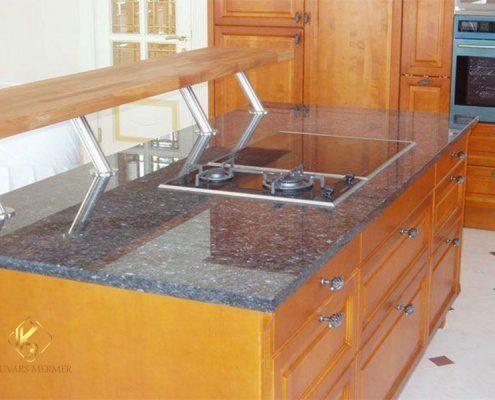 Blue Pearl Granit Mutfak Tezgahları altunizade