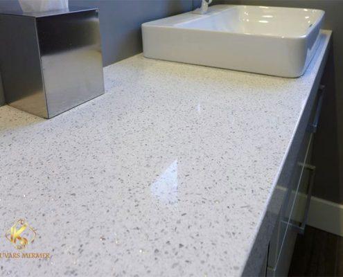 Beyaz Banyo Tezgahı Beykoz