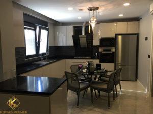 Siyah Belonco mutfak tezgah