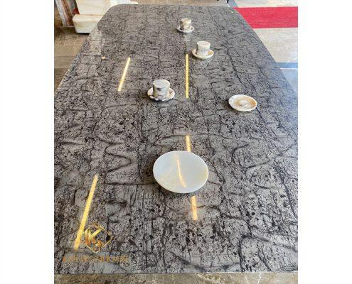Mermer-Yemek-Masası
